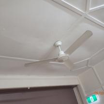 Sagging plaster ceiling