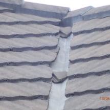 Tiles in valley